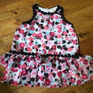 ♠️ kate spade floral baby dress sz 18M